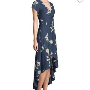 Free People Lost in You Floral Midi Dress